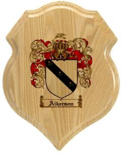 aikerson-family-crest-plaque