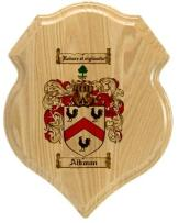 aikman-family-crest-plaque