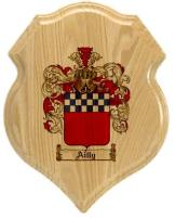ailly-family-crest-plaque