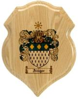 ainger-family-crest-plaque