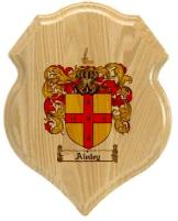 ainley-family-crest-plaque