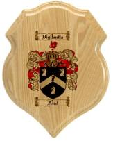 aird-family-crest-plaque