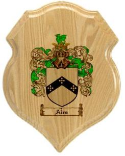airs-family-crest-plaque