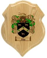 aise-family-crest-plaque