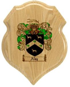 aisy-family-crest-plaque