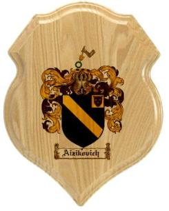 aizikovich-family-crest-plaque