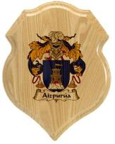 aizpurua-family-crest-plaque