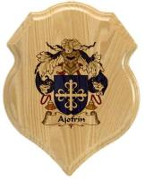 ajofrin-family-crest-plaque