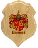 akerman-family-crest-plaque