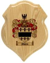 akers-family-crest-plaque