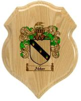 akker-family-crest-plaque