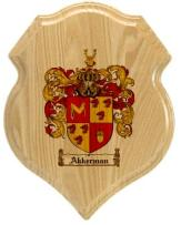 akkerman-family-crest-plaque