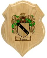 akkers-family-crest-plaque