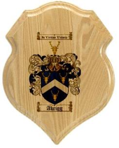 akrigg-family-crest-plaque