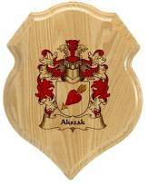 akszak-family-crest-plaque