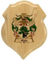 alaiz-family-crest-plaque