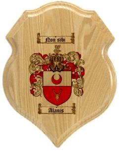 alanis-family-crest-plaque