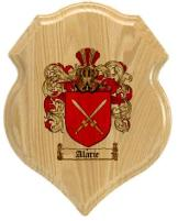 alarie-family-crest-plaque