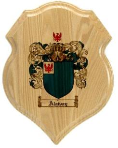 alaway-family-crest-plaque