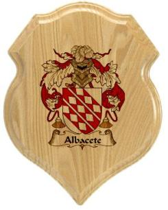 albacete-family-crest-plaque