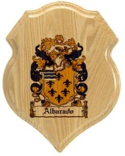 albarado-family-crest-plaque