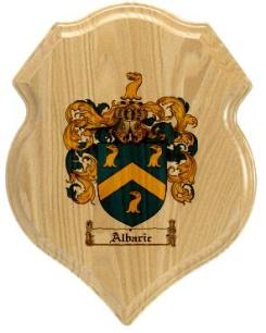 albaric-family-crest-plaque