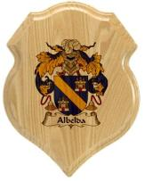 albelda-family-crest-plaque