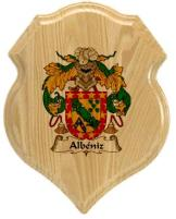 albeniz-family-crest-plaque