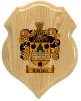 alberque-family-crest-plaque
