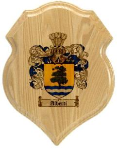 alberti-family-crest-plaque