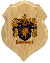 albertson-family-crest-plaque