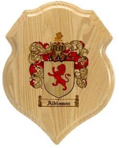 albinson-family-crest-plaque