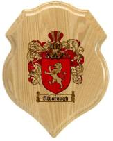 alborough-family-crest-plaque