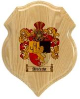 albrecht-family-crest-plaque
