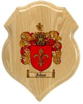 albut-family-crest-plaque