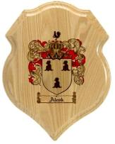 alcok-family-crest-plaque