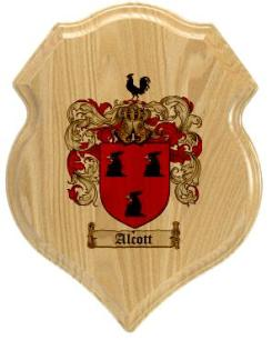 alcott-family-crest-plaque