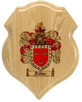 aldan-family-crest-plaque