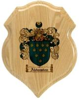 aldanston-family-crest-plaque