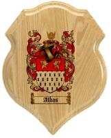 aldas-family-crest-plaque