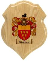 aldeford-family-crest-plaque
