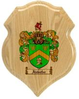 alderfer-family-crest-plaque