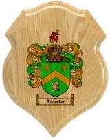 alderfer-family-crest-plaque