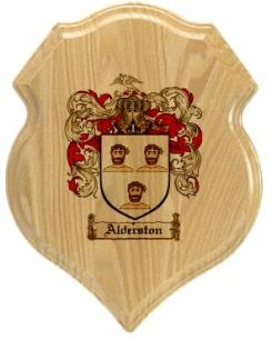 alderston-family-crest-plaque