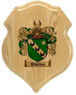 alderton-family-crest-plaque
