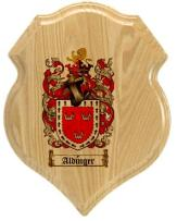 aldinger-family-crest-plaque