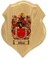 aldins-family-crest-plaque