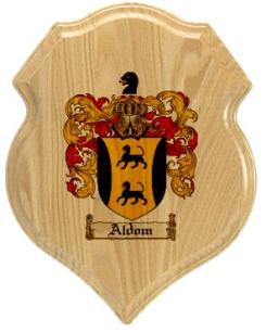aldom-family-crest-plaque