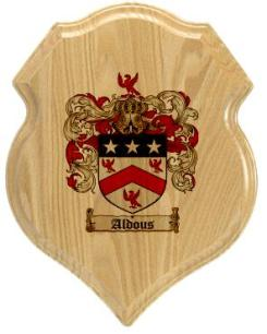 aldous-family-crest-plaque