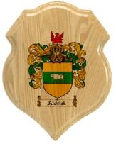 aldrick-family-crest-plaque